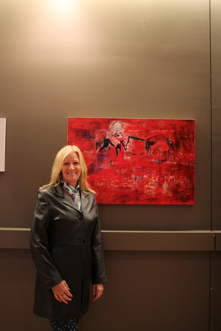 Artist Ruby Purple