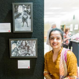 Artist Veena Dubey