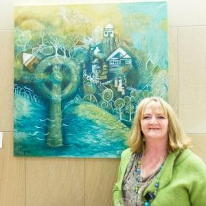 Artist Pamela Gough