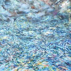 2019artprizeDOHERTY_Bronwyn_'I shall fear no Evil'_acrylic on canvas_91cm x 120cm